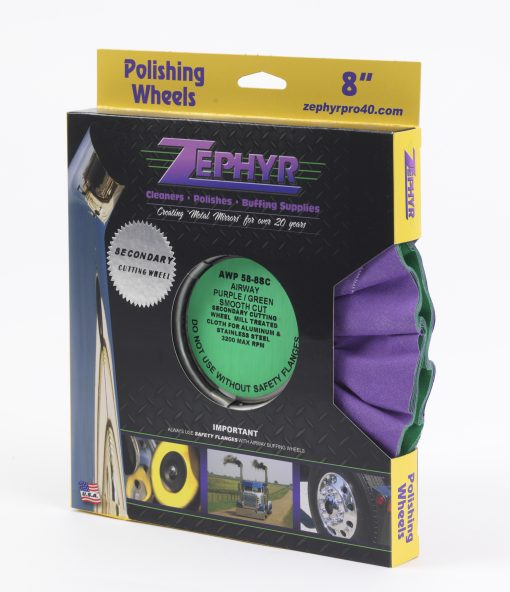 Purple/Green Smooth Cut Airway 8″