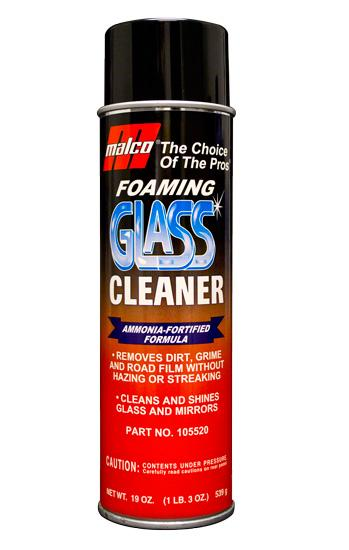 Malco Foaming Glass Cleaner - Ammonia Fortified