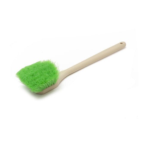 Green Nylon, Soft Long Handle Brush