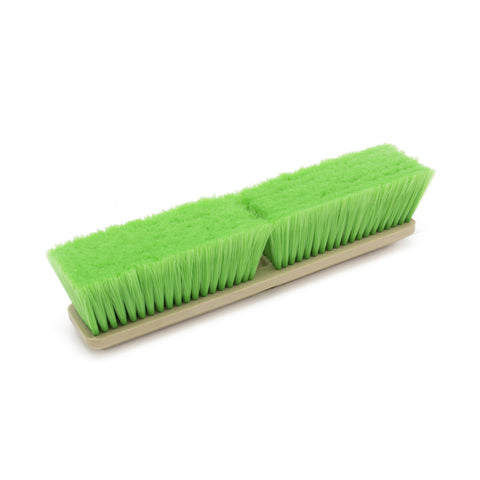 "14"" Green, Nylon Wash Brush, Each"