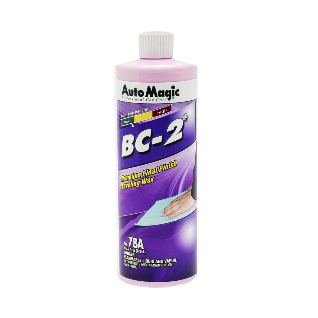 BC-2 Clear Coat Finish/Polish, Pint