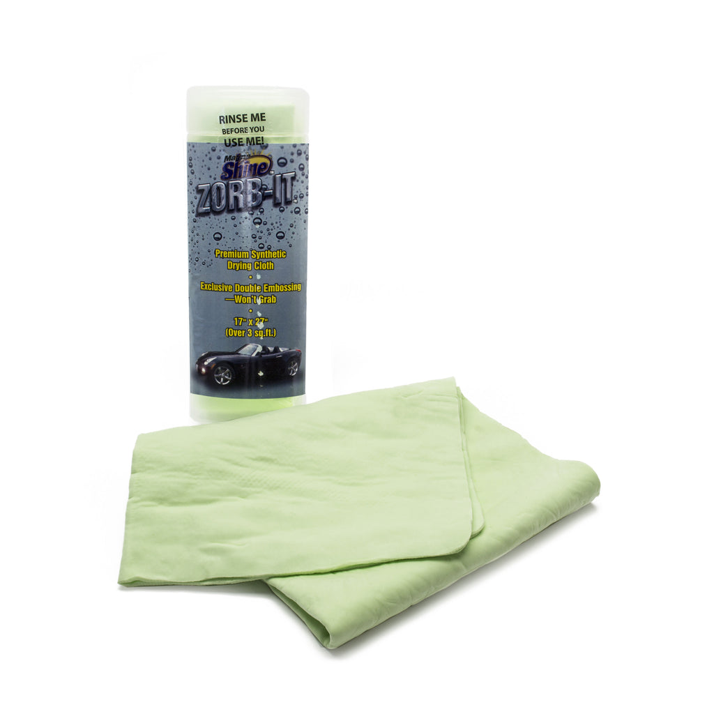 Zorb-It Drying Cloth w/Tube, 17x27 Green