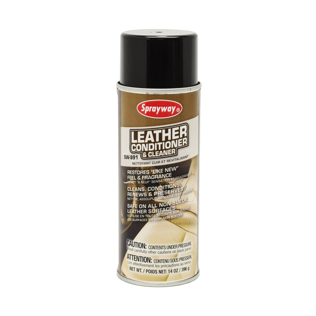 Sprayway Leather Cleaner and Conditioner