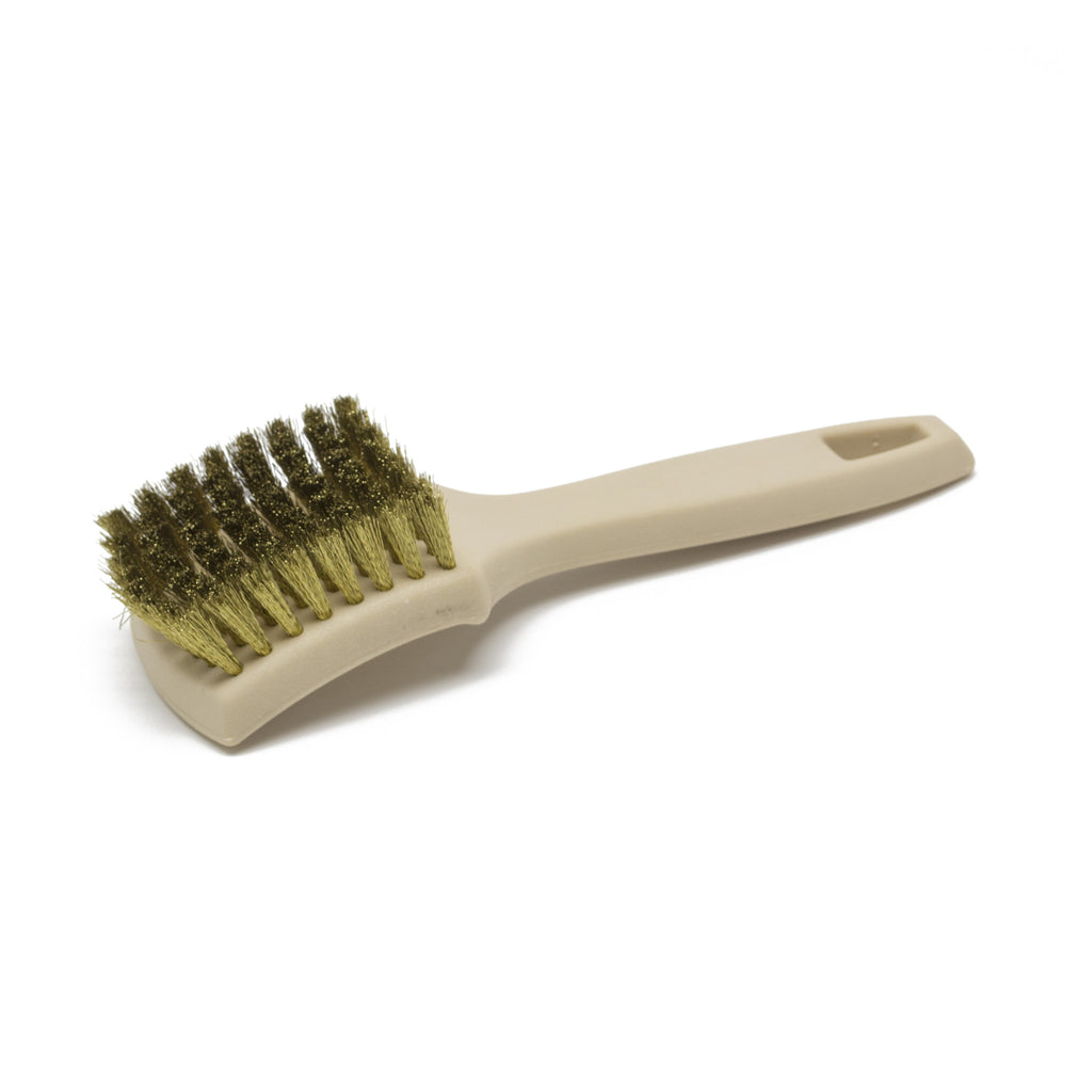 Brass Bristle Tire Brush