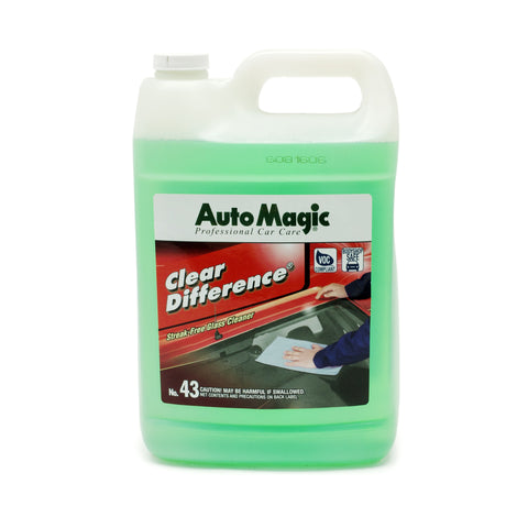 Clear DIfference Glass Cleaner, Gallon