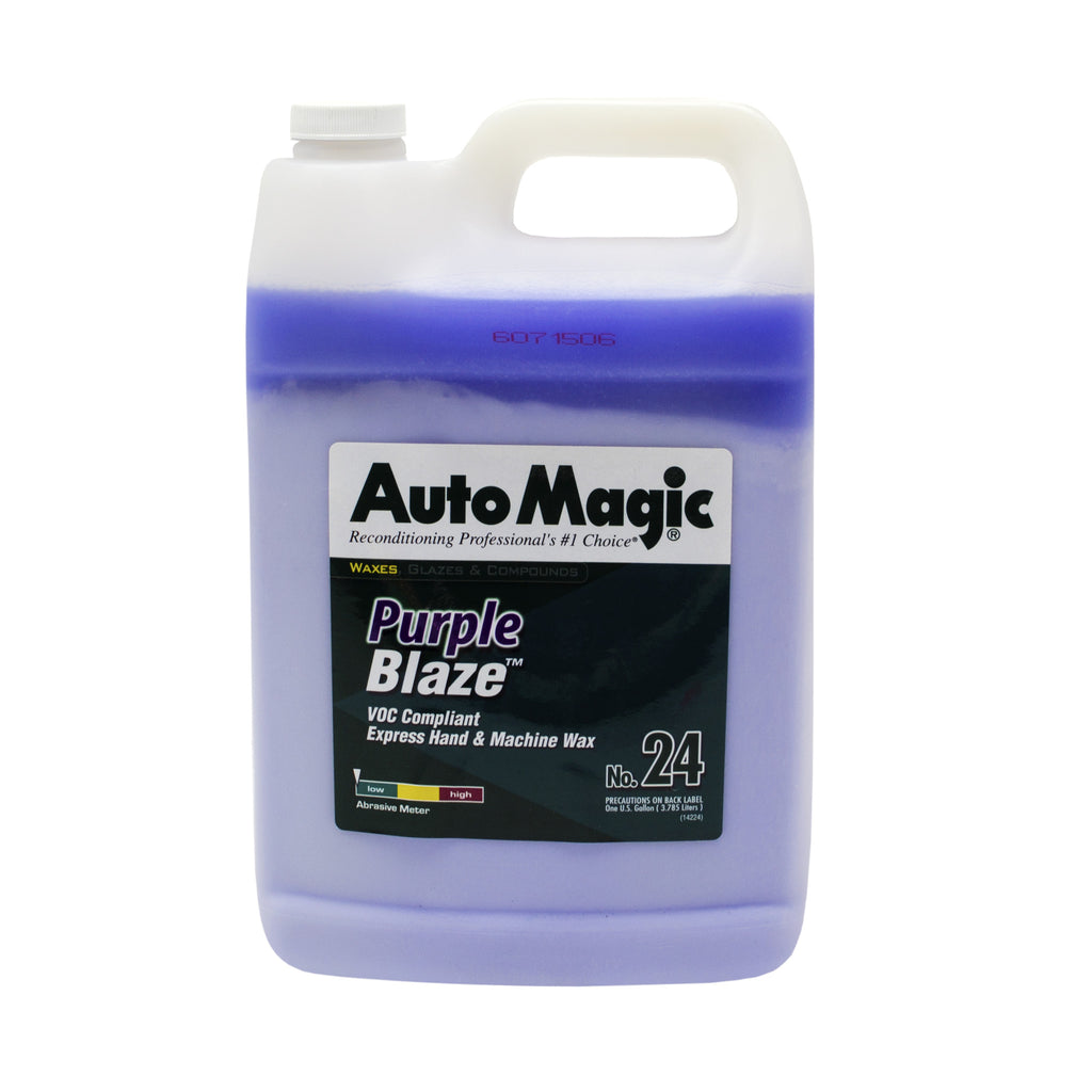 Purple Blaze Express Wax, Gallon