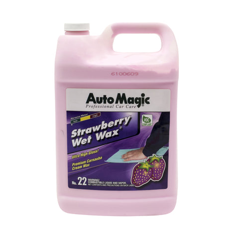 Strawberry Wet Wax, Gallon