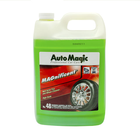 MAGnificent, Safe Non Acid Wheel Cleaner, Gallon