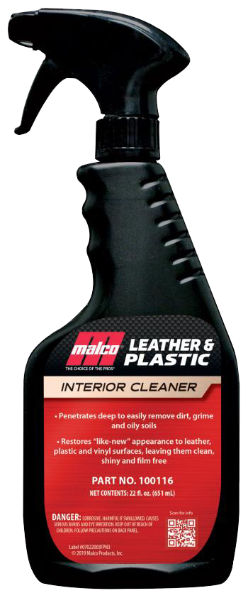 Leather and Plastic Cleaner