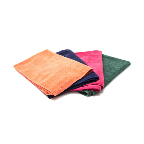 Large General Purpose Microfiber Towel, Forest Green 16 x 27