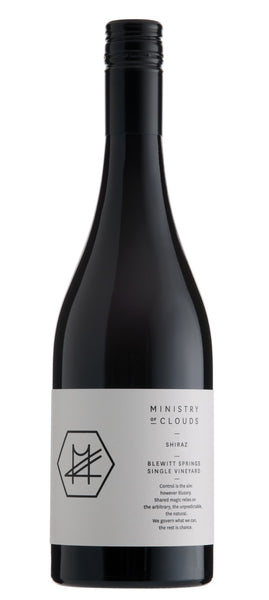 Ministry of Clouds Single Vineyard Shiraz 2016 (RRP $65 WM $58.90)
