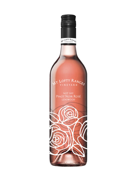 Mt Lofty Ranges Vineyard Not Shy Pinot Noir Rosé 2018 (RRP $22 WM $18.90)