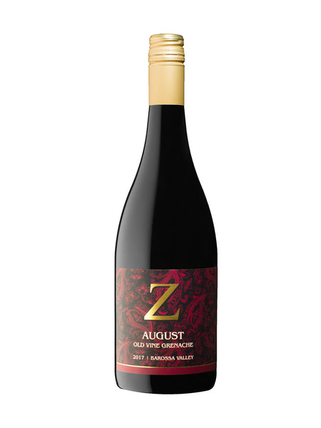 Z WINE 'August' Old Vine Grenache 2018 (RRP $30)