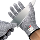 Cut Resistant Gloves Level 5 Protection Food Grade Safe Kitchen Culinary Home