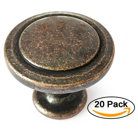 Kitchen Cabinet Knob Classic Round Pull Handle Country Style Handles