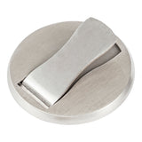 Low Profile Magnetic Door Stop for Home Office Hotel Stainless Steel