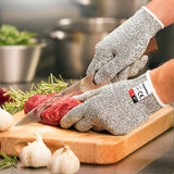Cut Resistant Gloves Level 5 Protection Food Grade Safe