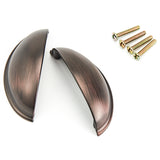 Classic Metal Cup Drawer Cabinet Handle Pull Country Style