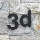 Modern Stainless Steel 6 Inch House Numbers