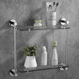 Hand Towel Ring Brass Wall Mounted Modern Ideal for Bathroom Kitchen Chrome Finish Scratch & Corrosion Resistant