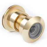 Large Door Viewer as Security Peep Hole 220 Degree Solid Brass