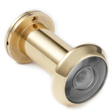 Door Viewer Security Peek Peep Hole for Solid Brass Privacy With Cover