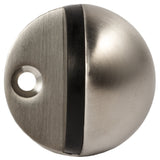 Heavy Duty Stainless Steel Round Door Stop with Rubber Pad