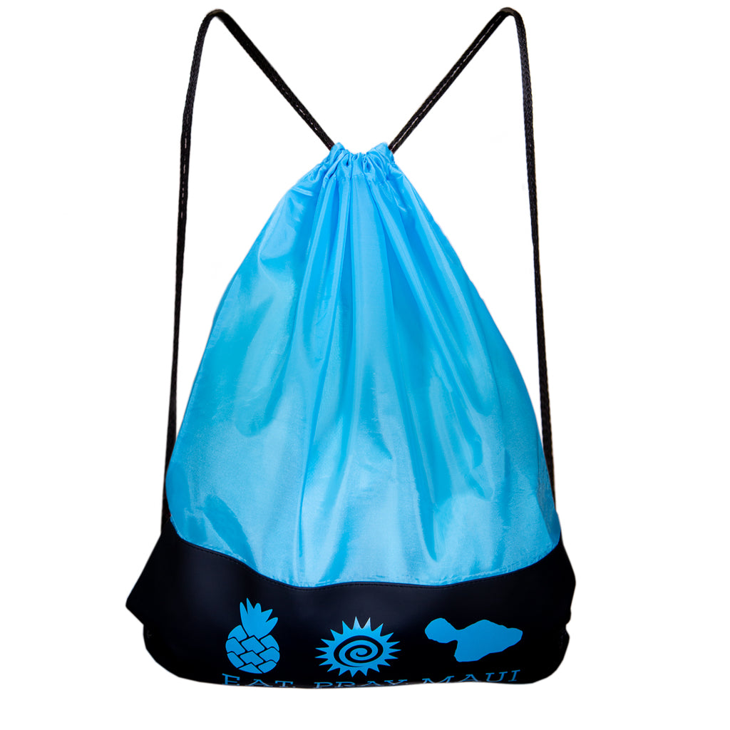 Drawstring Bag - Light Blue