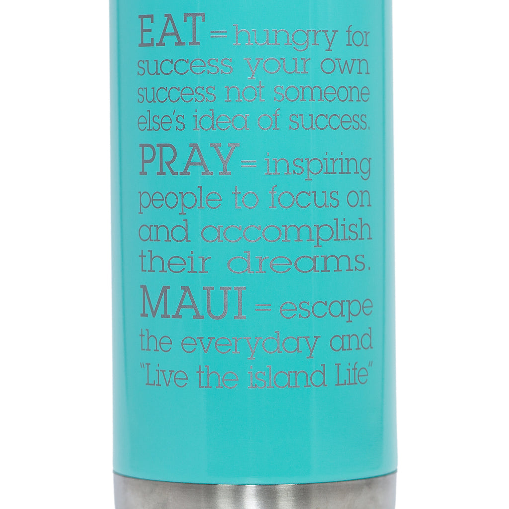 EAT PRAY MAUI® Bottle - MINT