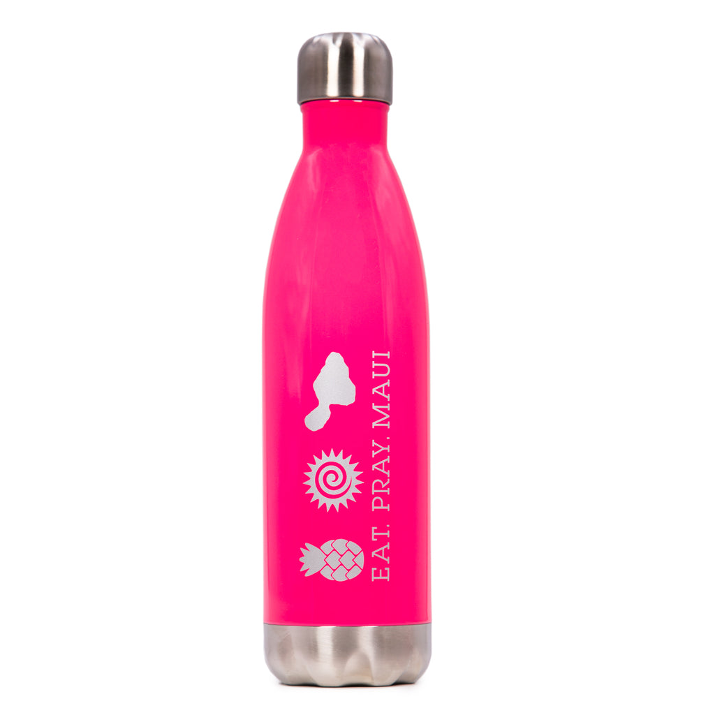 EAT PRAY MAUI® Bottle - PINK