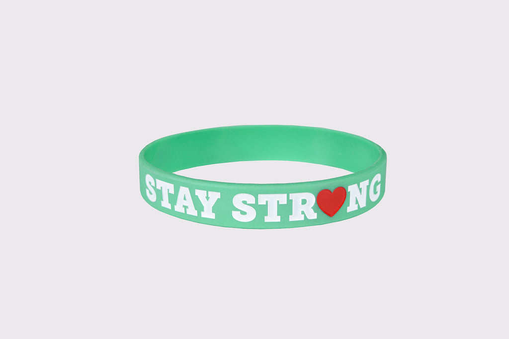 Stay Strong Bracelet > Light Green