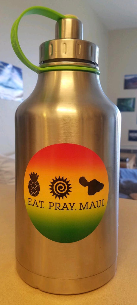 EAT PRAY MAUI Rasta Color