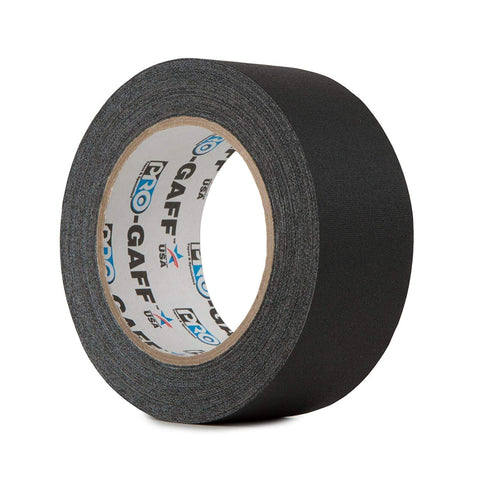 GAFFER TAPE MATT BLACK 48MM X 25M
