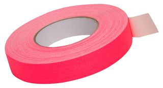 Fluoro Cloth Tape Pink 25Mm X 25M