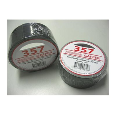 NASHUA 357 GAFFERS TAPE BLACK 48MM X 10M