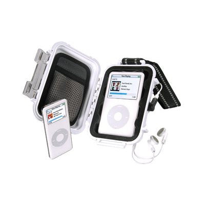 PELICAN I1010 IPOD CASE 115X75X40MM WHT