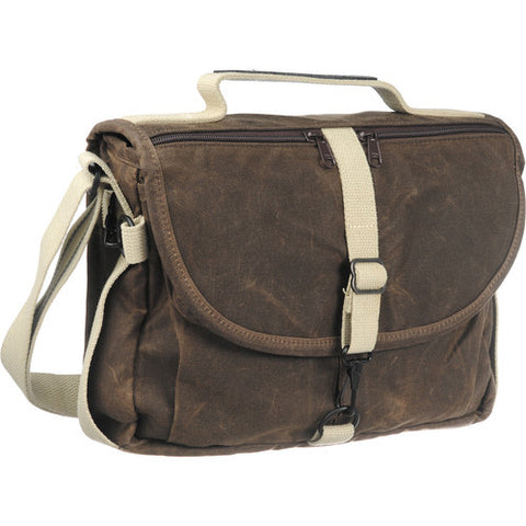 DOMKE F-803 RUGGEDWEAR - BROWN SATCHEL