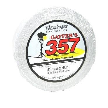 NASHUA 357 GAFFERS TAPE WHITE 48MM X 40M