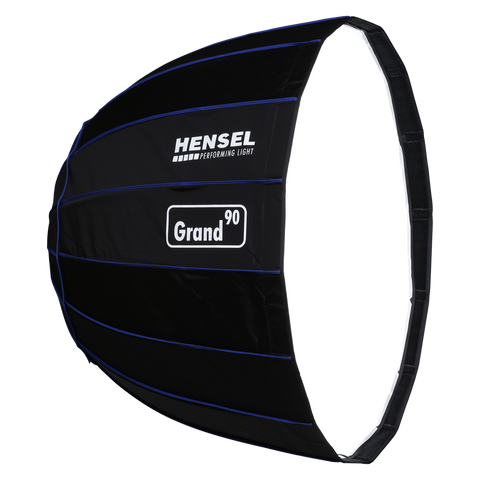 Hensel Grand90Cm Silver Parabolic W/O Adapter