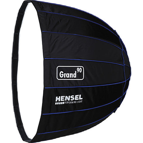 HENSEL GRAND PARABOLIC 90CM SILVER W/O ADAPTER