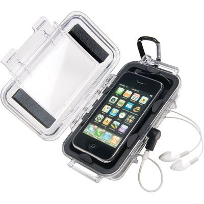 PELICAN I1015 IPOD CASE 131X67X35MM CLEA