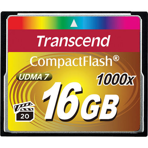 COMPACT FLASH CARD: TRANSCEND
