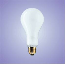 BULB: 250W 240V ES PHOTOCRESCENTA