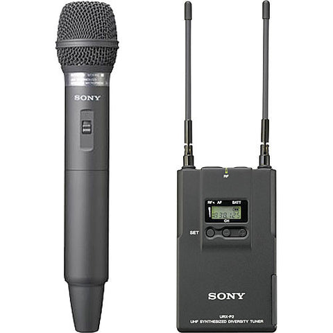 SONY UHF WIRELESS MICROPHONE PACKAGE