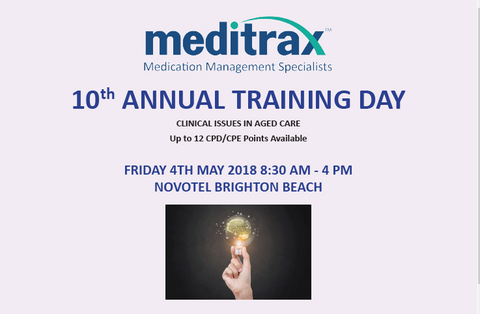 10th Annual Training Day - Non-Meditrax Clients