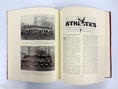 Pre-War 1937 Montreal Loyola College Yearbook, Hockey & Football Teams, COTC