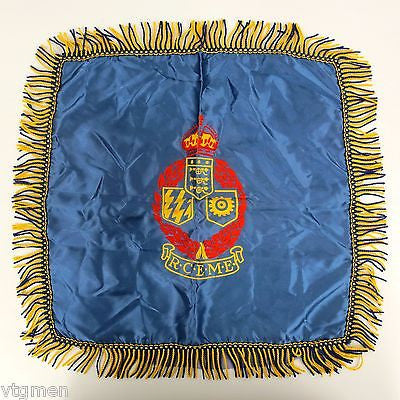 WWII Royal Canadian Electrical Mechanical Engineer RCEME Decoration Medal Pillow
