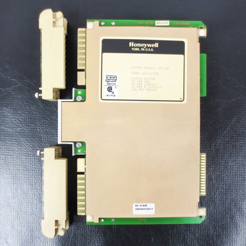 Honeywell Output Module Isolated Board PLC 115VAC 621-2150R 6212150R w/ Brackets