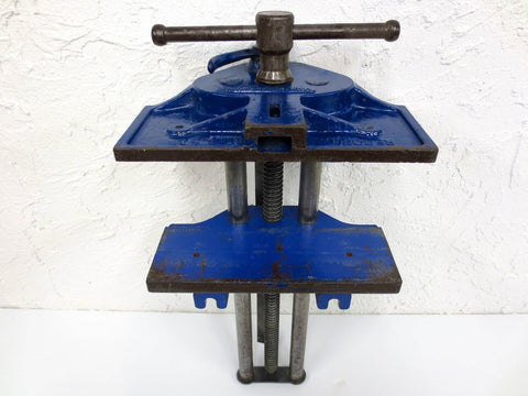 "Record Tool Wood Working Vise No. 53 England, 14"" Wide Mouth Vise, Quick Adjust"