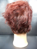"Vtg Pivot Point Eva Mannequin Head 11"" Short Red Hair Shaved Cut, Store Display"
